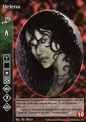 The Great Mother Tremere  // Camarilla Vampire Virstania VTES V:TES